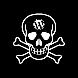 wordpress-skull